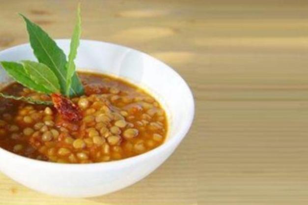 постный суп из чечевицы